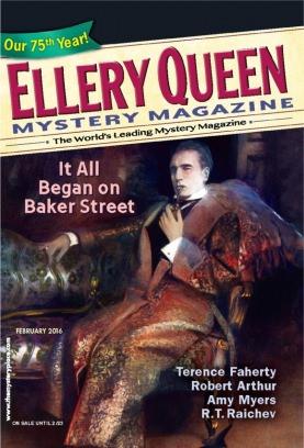 Ellery Queen Mystery Magazine February 2016 Magazine