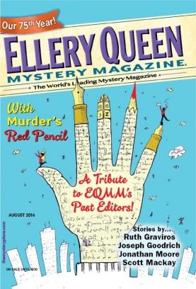 Ellery Queen Mystery Magazine August 2016 Magazine