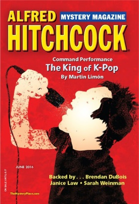 Alfred Hitchcock Mystery Magazine June 2016 Magazine