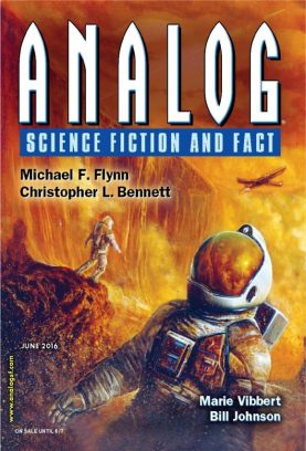 Analog Science Fiction and Fact June 2016 Magazine