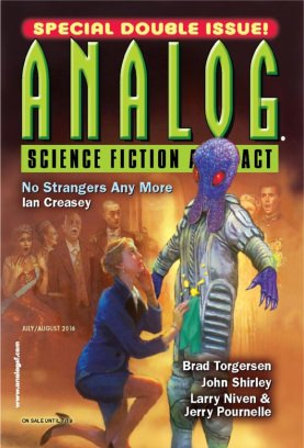 Analog Science Fiction and Fact July/August 2016 Magazine