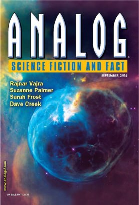 Analog Science Fiction and Fact September 2016 Magazine