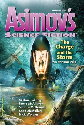 Asimov's Science Fiction February 2016 Magazine