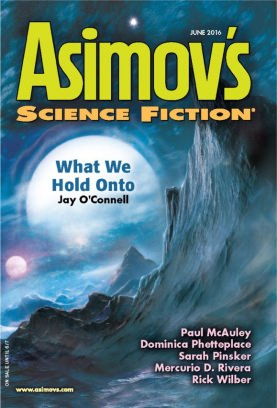 Asimov's Science Fiction June 2016 Magazine