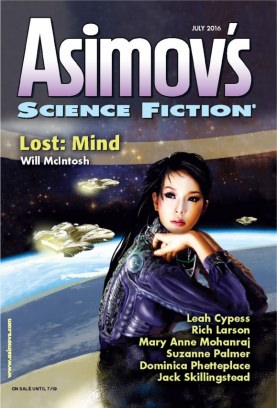 Asimov's Science Fiction July 2016 Magazine