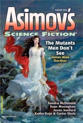 Asimov's Science Fiction August 2016 Magazine