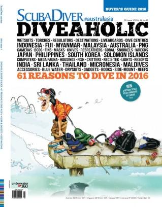 Scuba Diver Issue 01 - 2016 Magazine