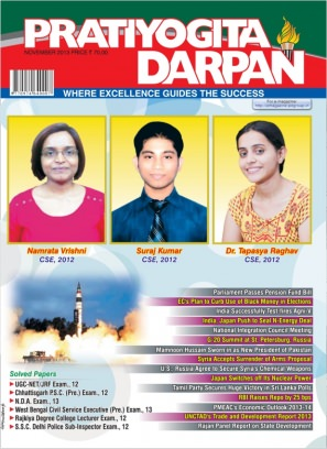 Pratiyogita Darpan English November 2013 Magazine