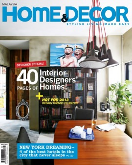Home decor malaysia magazine buy subscribe download for Home and decor magazine
