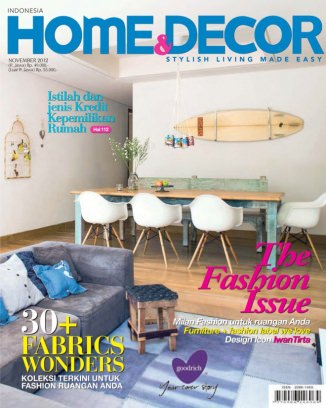 Home decor indonesia november 2012 digital magazine on for Home decor jakarta