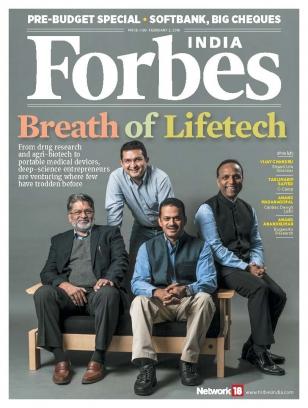 Forbes India February 2, 2018 Magazine