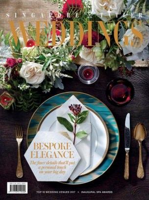 Singapore Tatler Weddings November 2017 - April 2018 Magazine