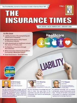 THE INSURANCE TIMES March 2018 Magazine