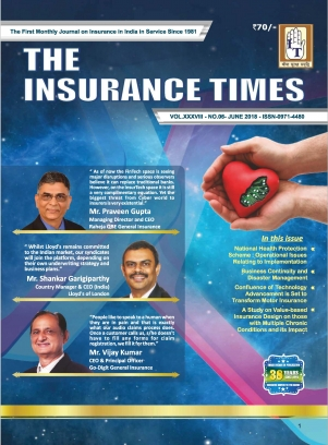 THE INSURANCE TIMES June 2018 Magazine