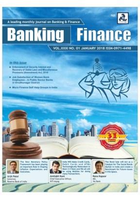 BANKING FINANCE January 2018 Magazine