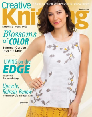 Creative Knitting Summer 2016 Magazine