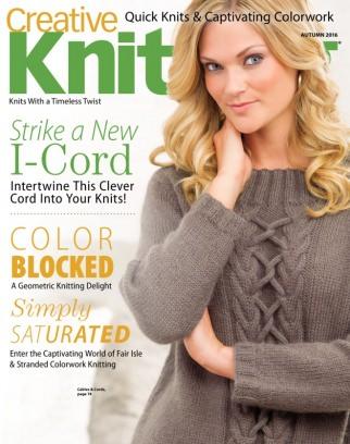 Creative Knitting Autumn 2016 Magazine