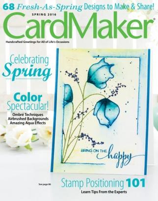 CardMaker Spring 2016 Magazine