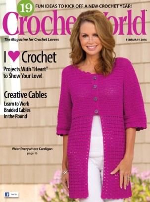 Crochet World February 2016 Magazine