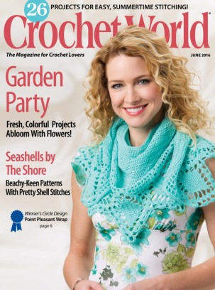 Crochet World June 2016 Magazine