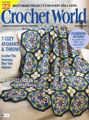 Crochet World February 2018 Magazine