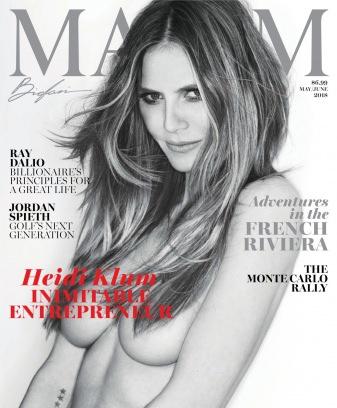 Maxim May/June 2018 Magazine