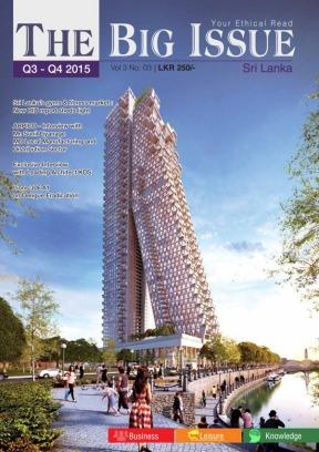 The Big Issue Srilanka Q3 - Q4 2015 Magazine