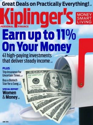 Kiplinger's Personal Finance June 2016 Magazine