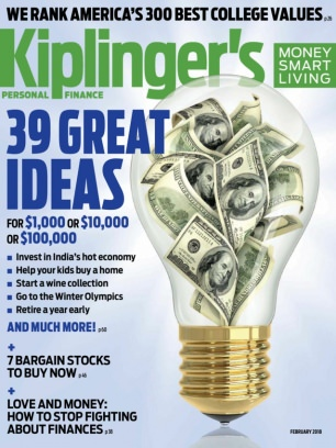 Kiplinger's Personal Finance February 2018 Magazine