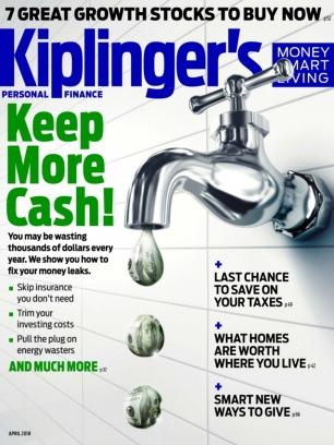 Kiplinger's Personal Finance April 2018 Magazine