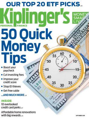 Kiplinger's Personal Finance September 2018 Magazine