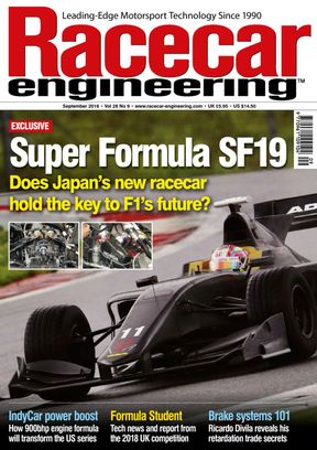 Racecar Engineering September 2018 Magazine