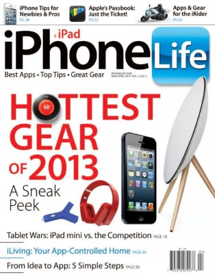 iPhone Life Magazine March - April 2013 Magazine