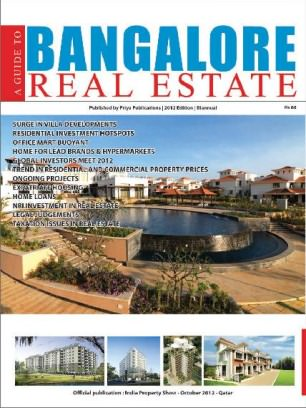 A Guide to Bangalore real estate Issue 1 Magazine