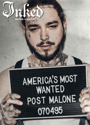 Inked LIfestyle issue with Post Malone Magazine