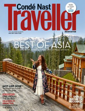 Condé Nast Traveller India August - September 2018 Magazine