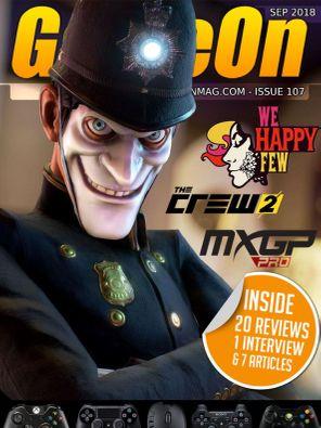 GameOn Magazine Issue 107 - September 2018 Magazine