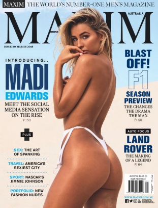 Maxim Australia March 2018 Magazine
