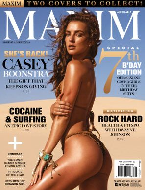 Maxim Australia August 2018 Magazine