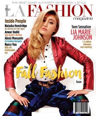 The LA Fashion magazine Fall 2015 Magazine