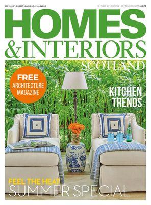 Homes & Interiors Scotland July - August 2018 Magazine