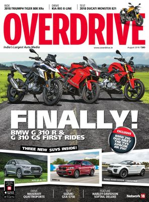 Overdrive August 2018 Magazine