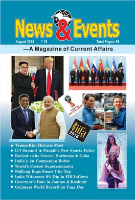 News and Events August 2018 Magazine