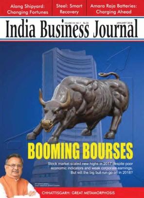 India Business Journal January 2018 Magazine