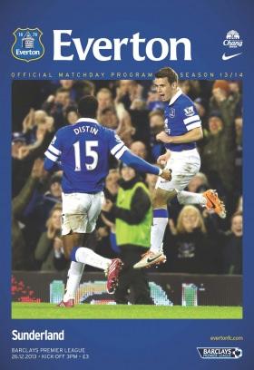 Everton Programmes Everton v Sunderland Magazine