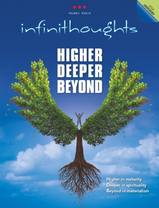 infinithoughts January 2018 - HIGHER DEEPER BEYOND Magazine