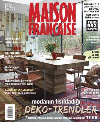maison fran aise magazine october 2013 issue get your digital copy. Black Bedroom Furniture Sets. Home Design Ideas
