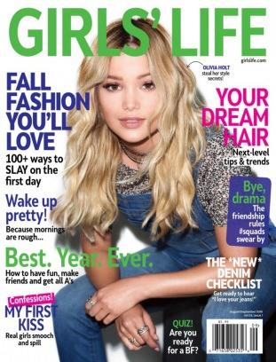 Girls' Life magazine August/September 2016 Magazine