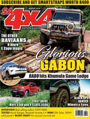 SA4x4 August 2018 Magazine