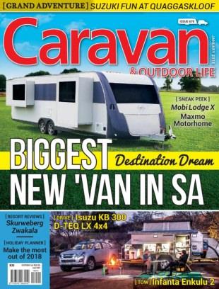 Caravan & Outdoor Life January 2018 Magazine